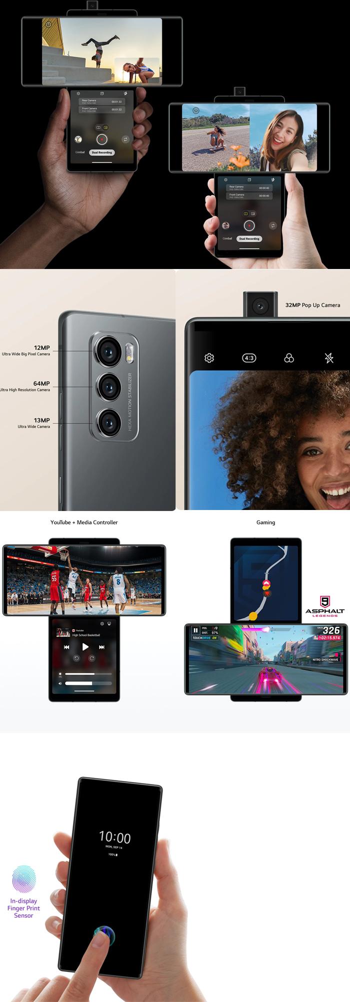 LG Wing 5G  購入