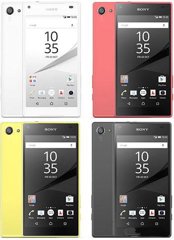Sony Xperia Z5 Compact E5823 販売