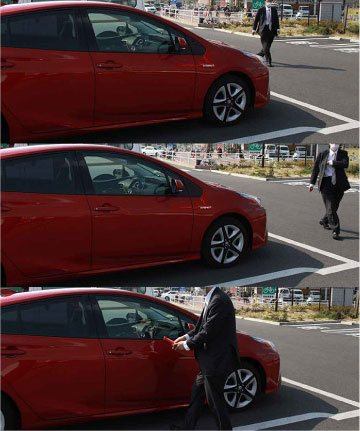 自動車盗難の手口