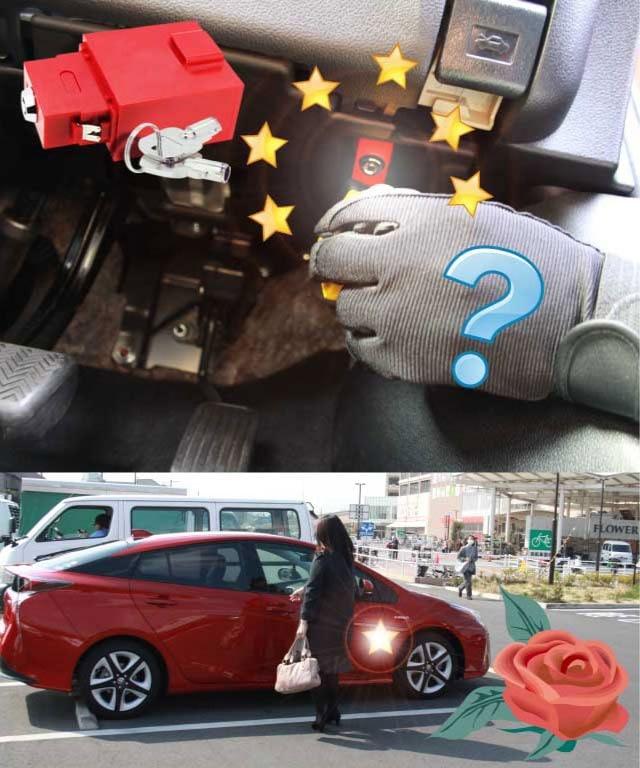 自動車盗難ブロック
