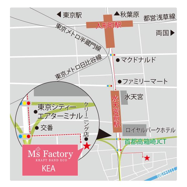 日本橋店地図