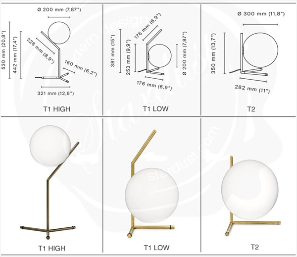 Flos/フロス/IC LIGHTS T1/T2テーブルライト