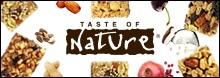 Taste of nature(テイストオブネーチャー)フルーツ&ナッツバー