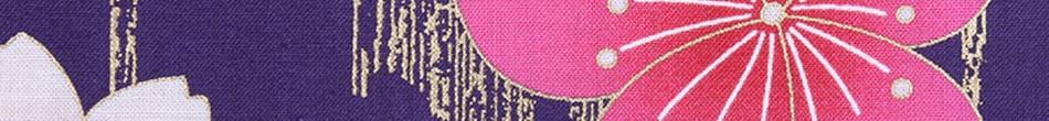 ご祝儀袋 結姫 musubime 白梅(コットン)紫群梅斗 蝶