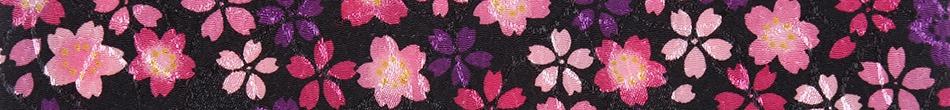 ご祝儀袋 結姫 musubime 青竹(ポリエステル)黒紫舞桜
