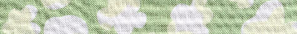 ご祝儀袋 結姫 musubime 末広(コットン)小花(緑) 蝶