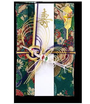 祝儀袋 結姫 青竹(ポリエステル)花弁模様