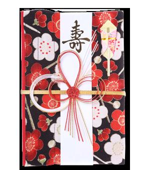 ご祝儀袋 結姫 青竹(ポリエステル)舞子福梅