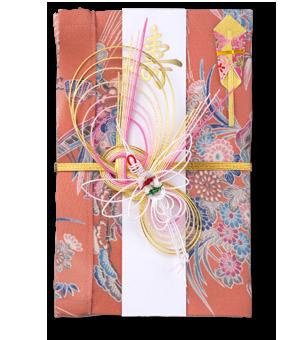 ご祝儀袋 結姫 赤松(シルク)祝梅祭