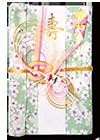 白梅(コットン)花風呂敷