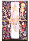 青竹(ポリエステル)竹花金紫