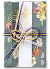 赤松(シルク)染花翠