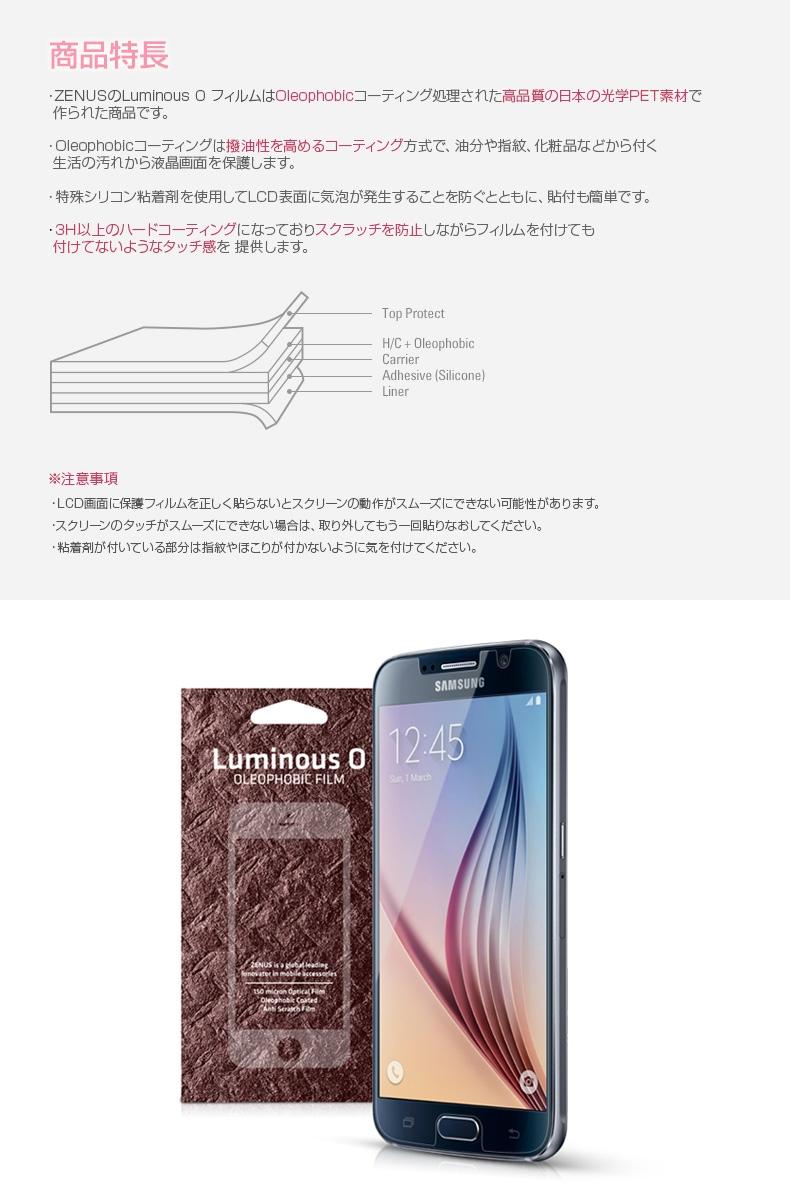 商品詳細-GalaxyS6専用フィルム