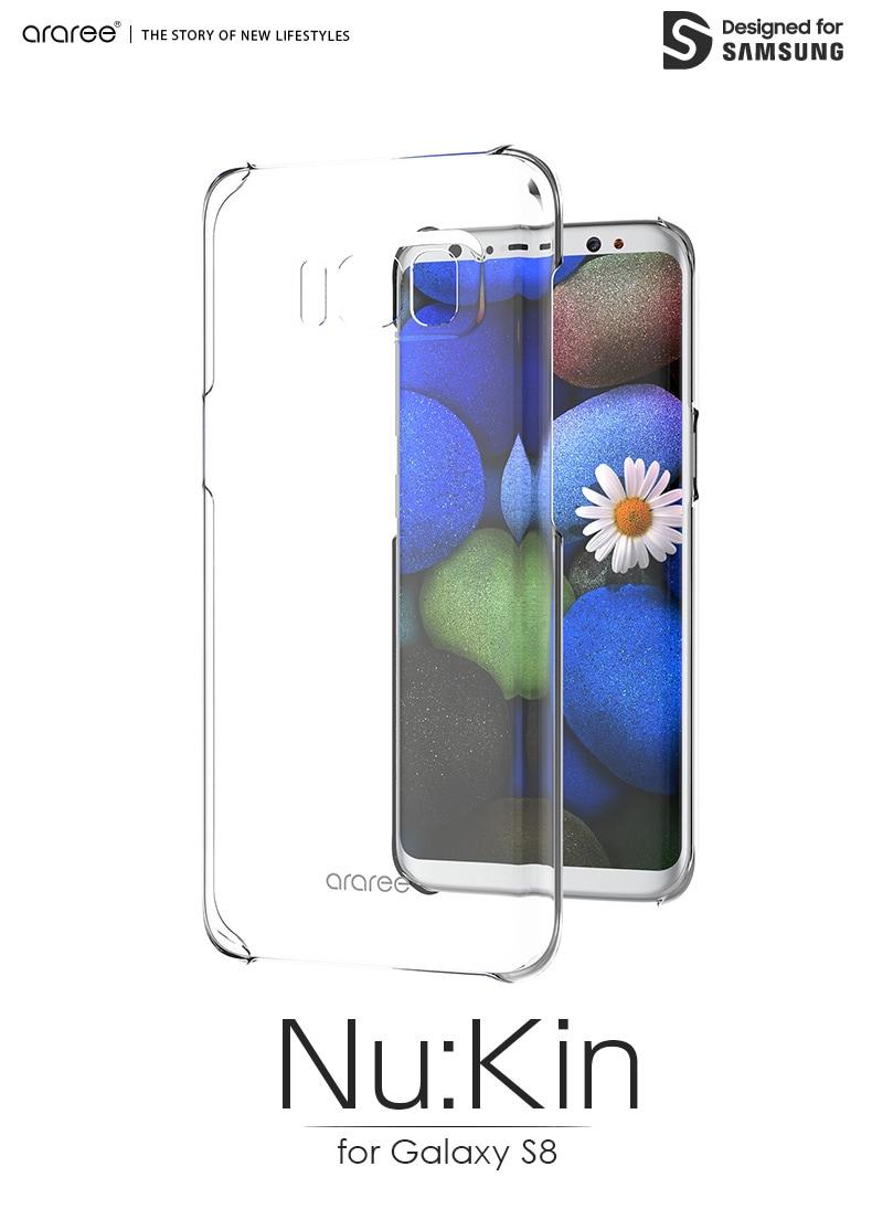 Galaxy S8 Nu:Kin クリア