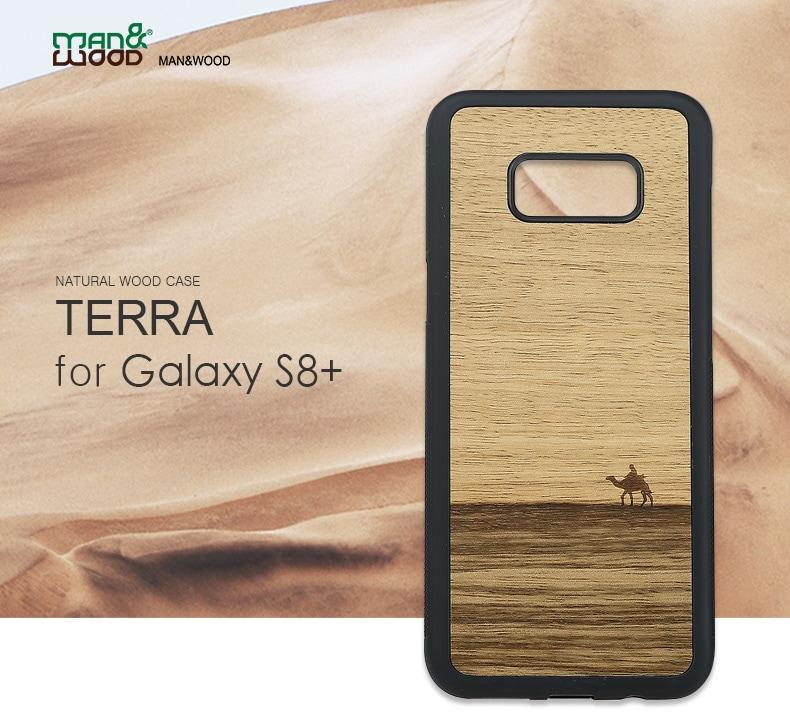 Galaxy S8+天然木ケース Terra