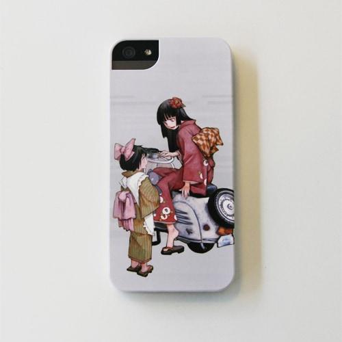 冬目景「スキットスクーター」iPhoneケース