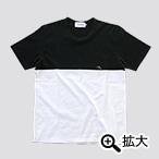 暗殺教室×ALOYE 2 殺せんせー刺繍Tシャツ ブラック×ホワイト