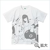 宇木敦哉 Tシャツ マイコのアオいハル ホワイト