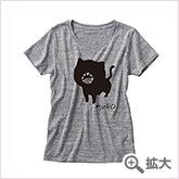 ソウマトウ 「黒」 Tシャツ グレー