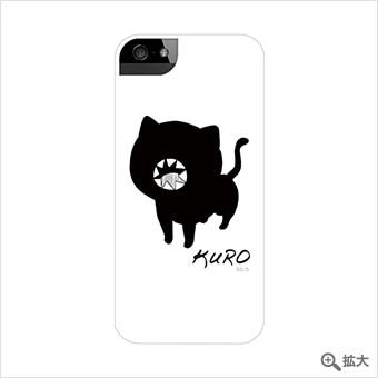 ソウマトウ 「黒」 iPhoneケース ホワイト