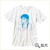 位置原光Z 「アナーキー・イン・ザ・JK」 Tシャツ ホワイト