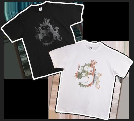 コロドラゴンTシャツ Black ver./Color ver.