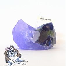 宝石の国 鉱石キャンドル アメシスト