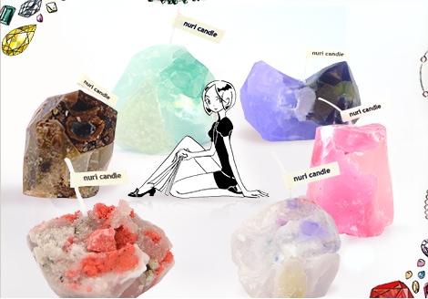 宝石の国 鉱石キャンドル
