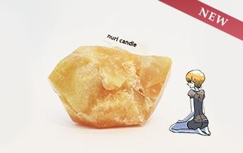 宝石の国 鉱石キャンドル ジルコン