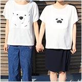 Tシャツ(シロクマさんver.、アザラシ君ver.)