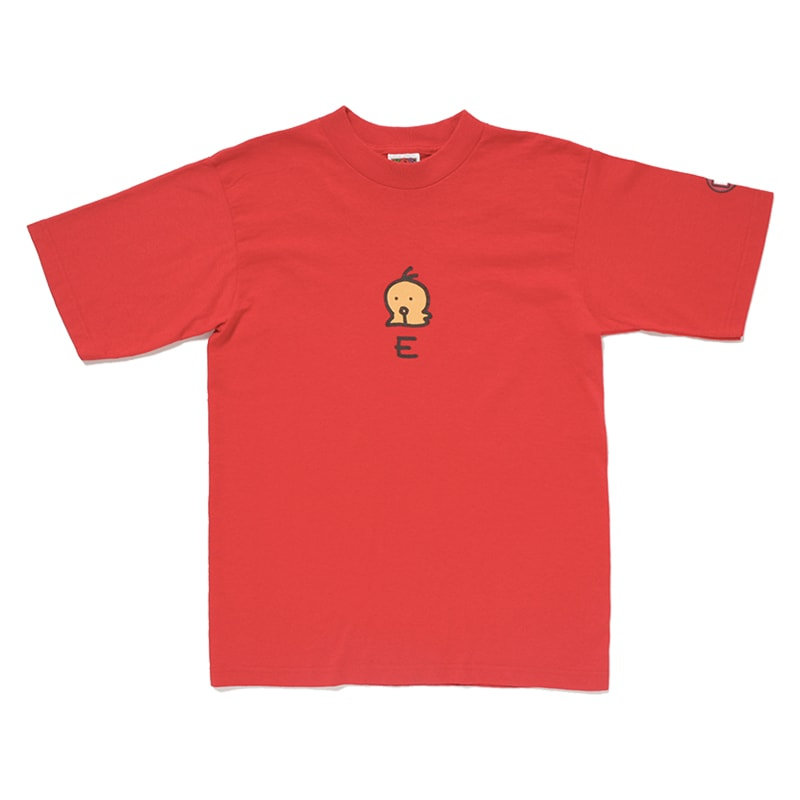「E」Tシャツ
