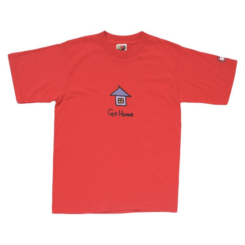 「家に帰れば」Tシャツ