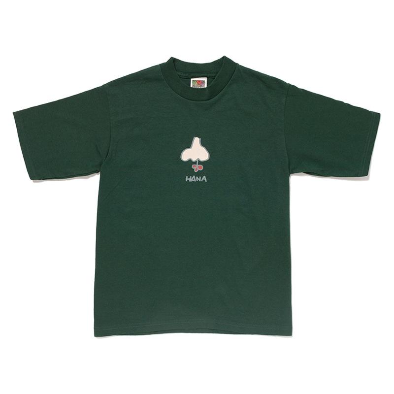 「鼻とフラワー」Tシャツ
