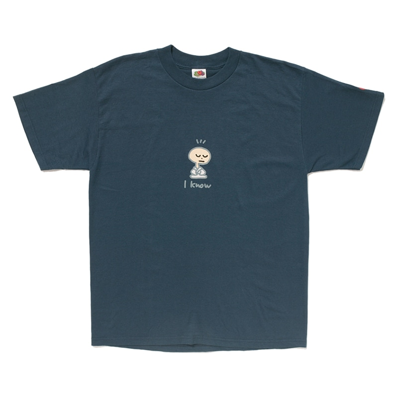「俺は知ってるぜ」Tシャツ
