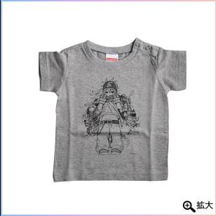 PEZ Tシャツ 杢グレー(90)