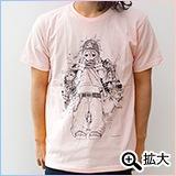 PEZ Tシャツ ライトピンク(M)
