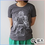 PEZ Tシャツ チャコール(XS)