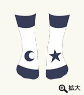 ピンポン 靴下(ホワイト)
