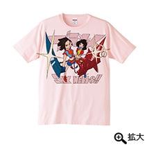 すしお先生描き下ろしTシャツベビーピンク