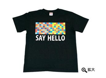 プラニメ「SAY HELLO」Tシャツ