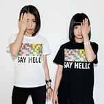 プラニメ着用「SAY HELLO」Tシャツ