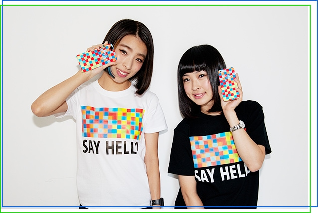 プラニメ「SAY HELLO」iPhoneケース