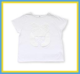りぼん Tシャツ ホワイト
