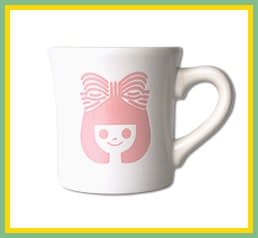 りぼん マグカップ