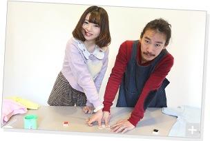 清 竜人×第2夫人 清 桃花、プリント作業の様子。