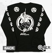 SA 侍アタックロンTEE(ブラック)