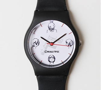 すべてがFになる 腕時計 犀川・萌絵柄
