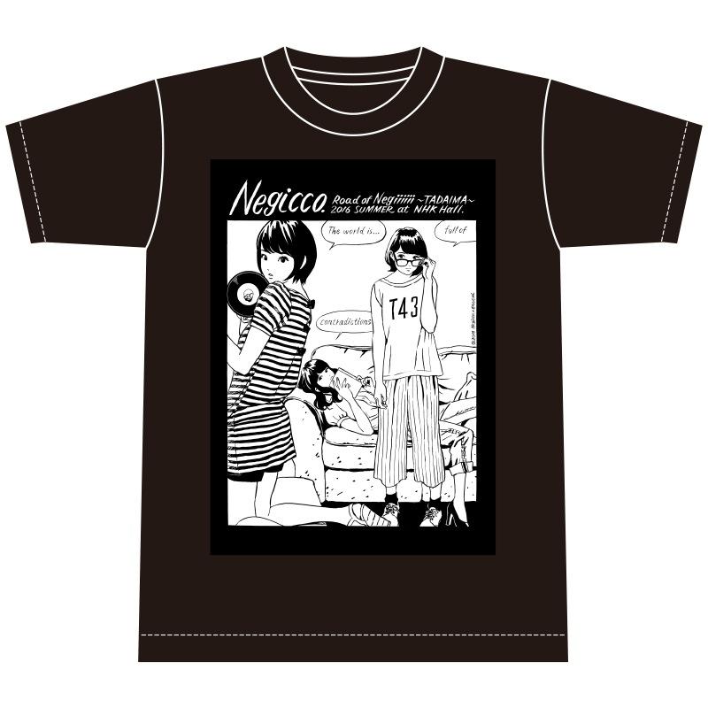 江口寿史×Negicco Tシャツ