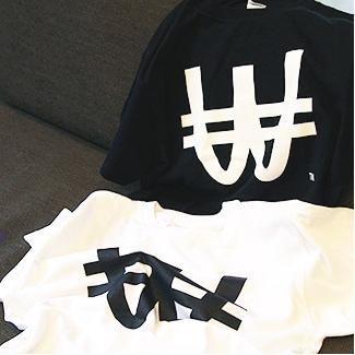 WACKロゴTシャツ