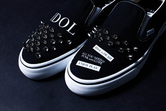 WACK×Deadman Slave's Slip‐on Shoes